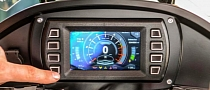 Awesome Glass Instrument Dash for the Motus MST