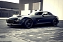 Awesome Matte Black Supercharged SLS AMG by Kicherer [Photo Gallery]