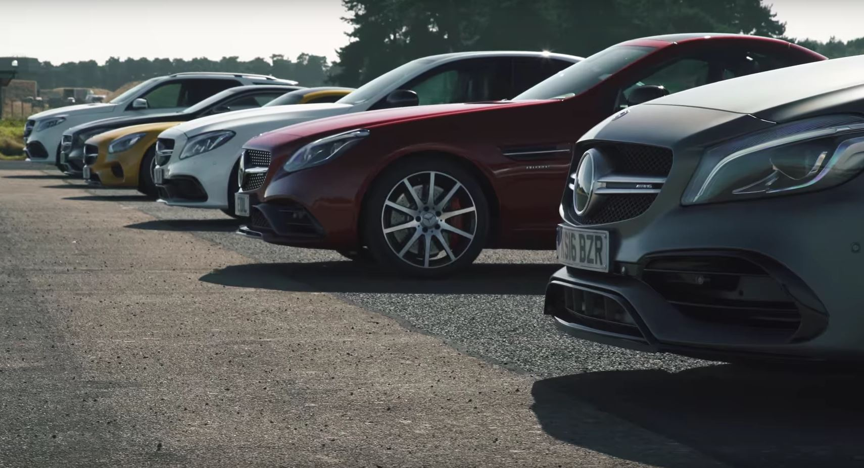 Awesome Mercedes-AMG Drag Race Has Everything from A45 to GLE 63 ...