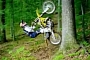 Awesome Travis Pastrana Tree Backflip [Video]
