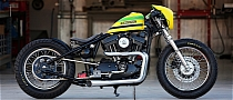 Ayrton Senna Tribute Bike by DP Customs [Photo Gallery]