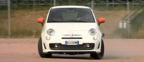 Aznom Abarth 500 Powersliding Video