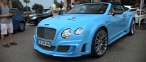 Azure Mansory-Tuned LE MANSory II Continental GTC [Video]