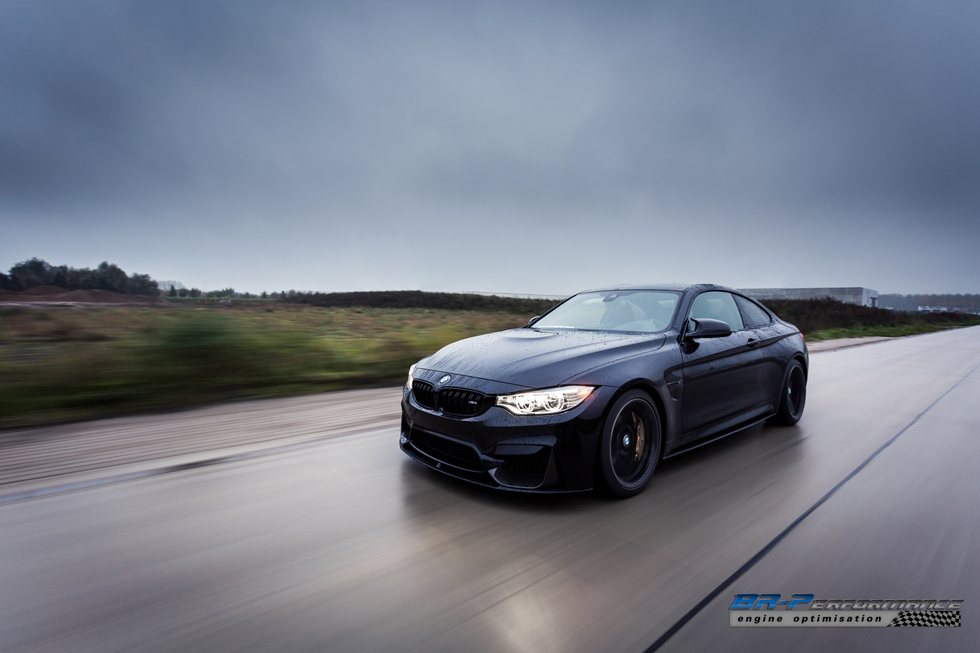 Azurite Black BMW M4 from BRPerformance Stole Our Soul