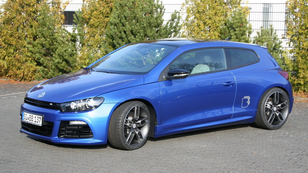 b b takes the volkswagen scirocco r to 362 hp autoevolution. Black Bedroom Furniture Sets. Home Design Ideas