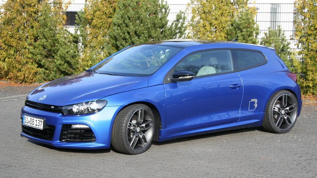 B Amp B Takes The Volkswagen Scirocco R To 362 Hp Autoevolution