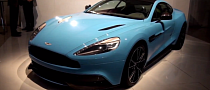 Baby Blue AM310 Vanquish [Video]