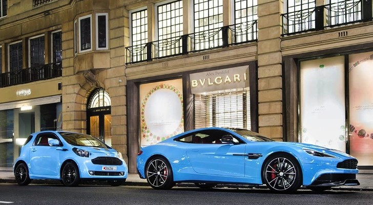 Baby Blue, Aston Martin Take