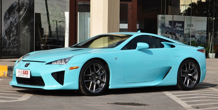Baby Blue Lexus LFA For Sale: $1.14 Million [Photo Gallery]
