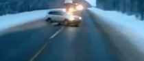 Baby Gets Flung From Car in Russian Accident - Miraculously Escapes Unscathed [Video]