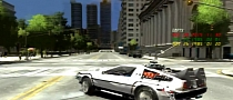 Back to The Future Fan Creates Detailed GTA IV Mod [Video]