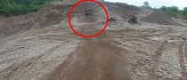 Bad Crash with ATV Landing on Top of Unlucky Rider [Video]