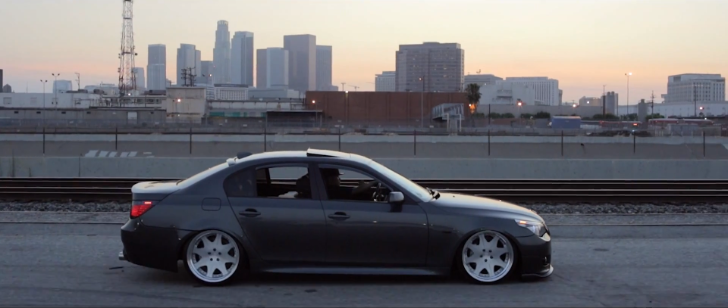 Bagged BMW E60 528i Tears the Streets of LA [Video]