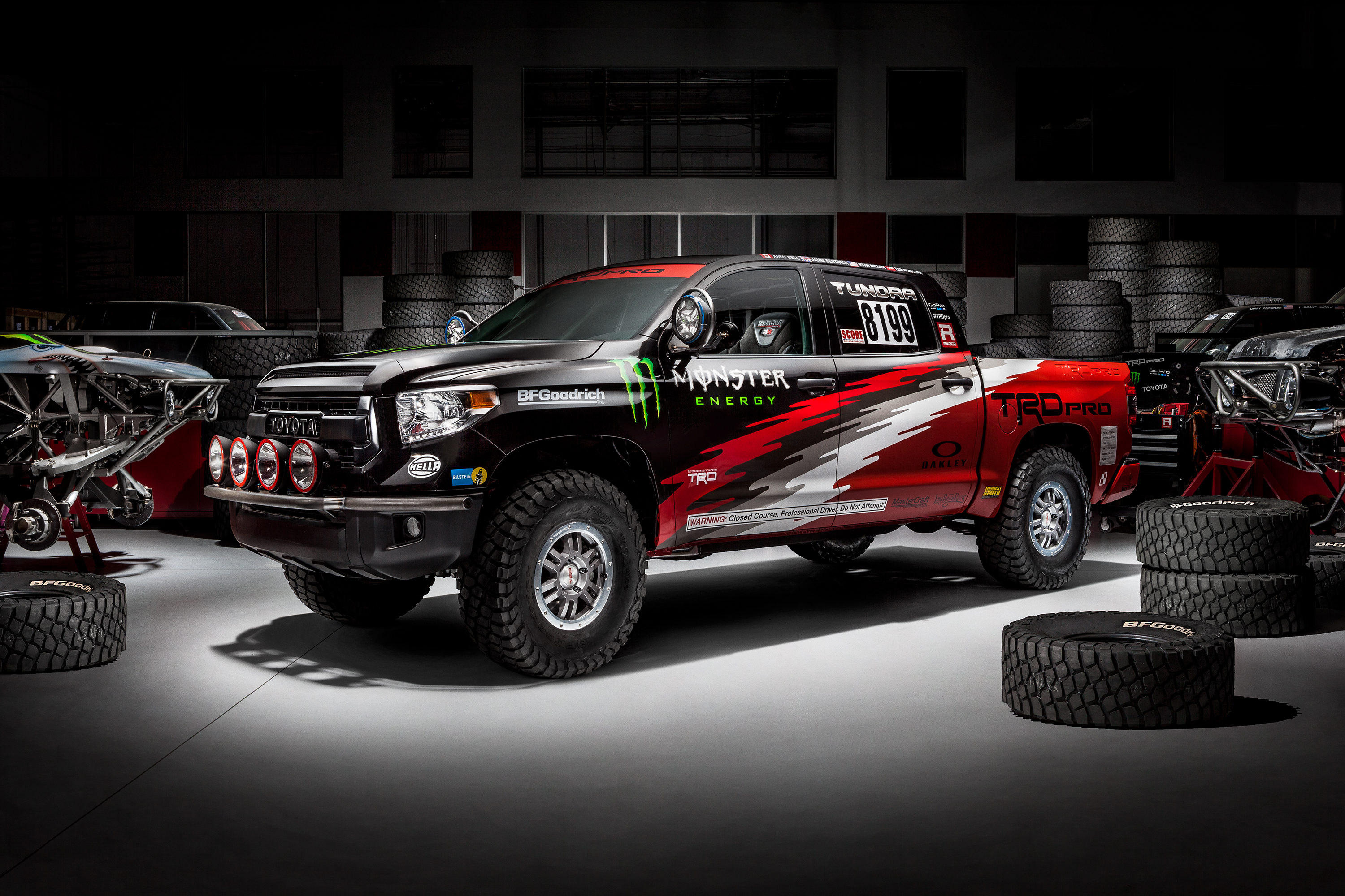Baja 1000 Toyota Tundra Trd Pro Revealed To Compete In