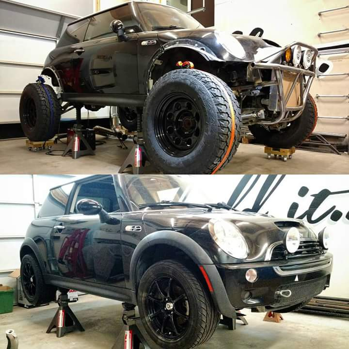 And While It Might Seem That Some Crazy Dude Abducted A Cooper S Ruined Cool Handling Machine
