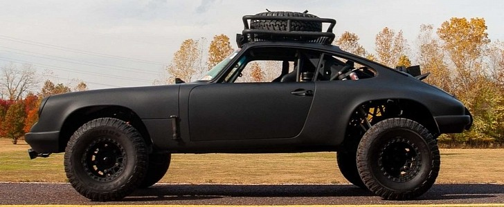 Baja-Ready Porsche 911 Looks Like It's Straight Out of Mad Max, Without the Junk
