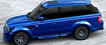 Bali Blue Range Rover Sport RS300 by Kahn [Photo Gallery]