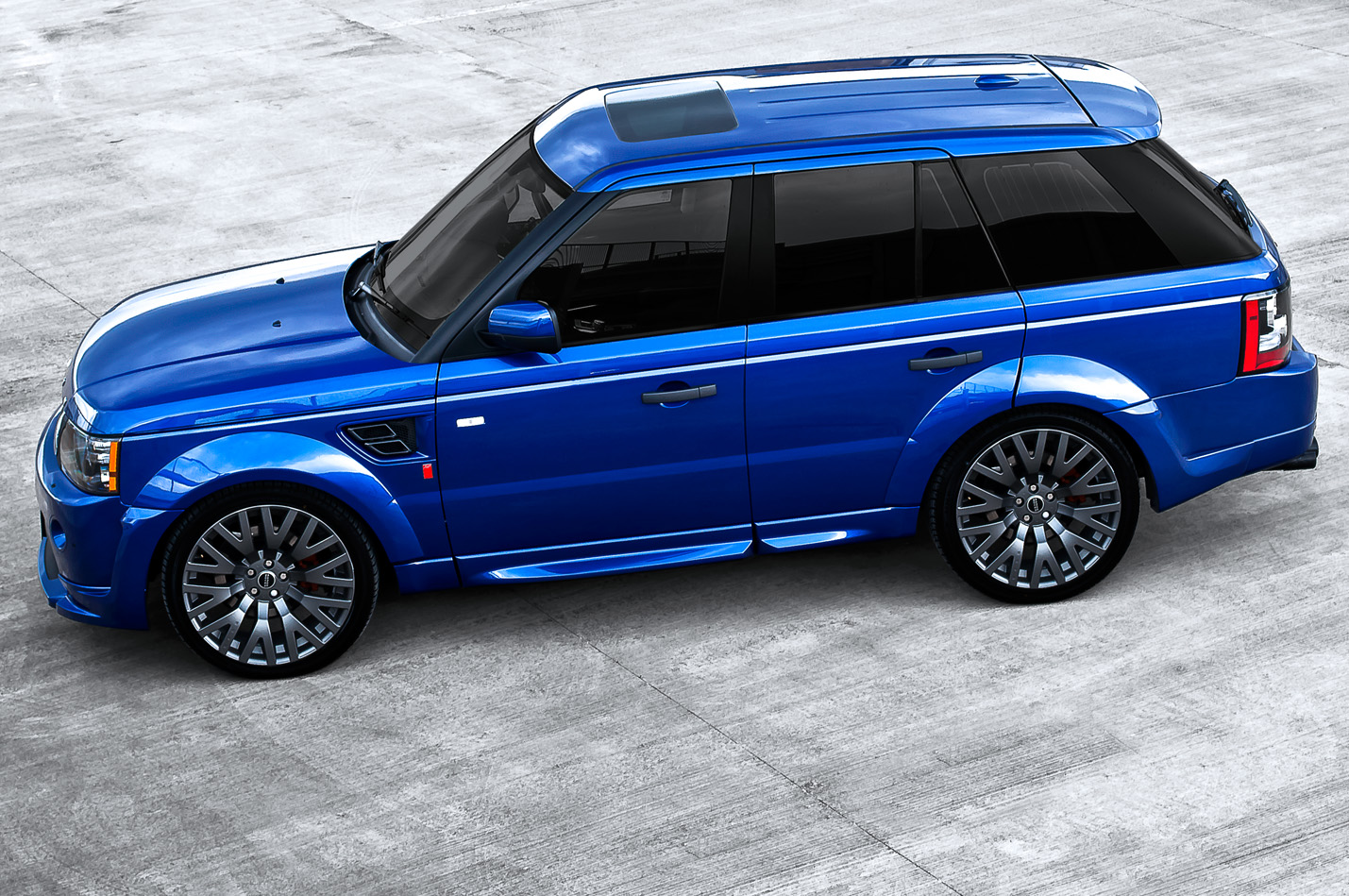 Bali Blue Range Rover Sport Rs300 By Kahn Autoevolution