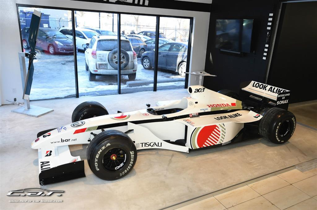 BAR 01 Formula 1 Racing Car Listed For Sale, Engine Not Included ...