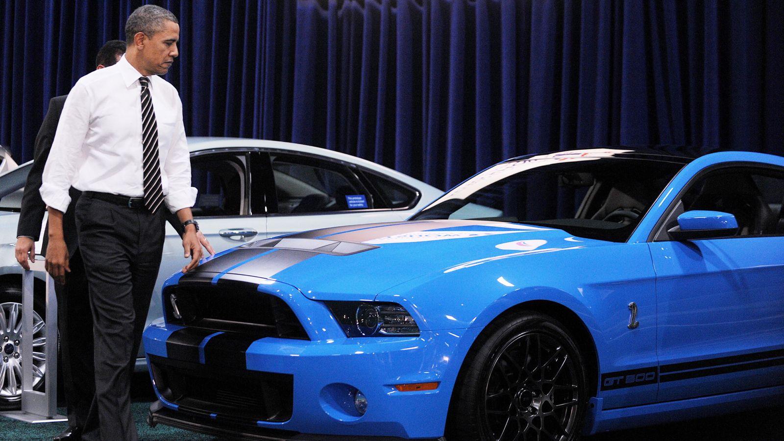 Barack obama praises the 2013 shelby gt500 autoevolution