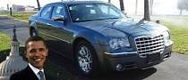 Barack Obama's Chrysler 300C For Sale on eBay [Photo Gallery]