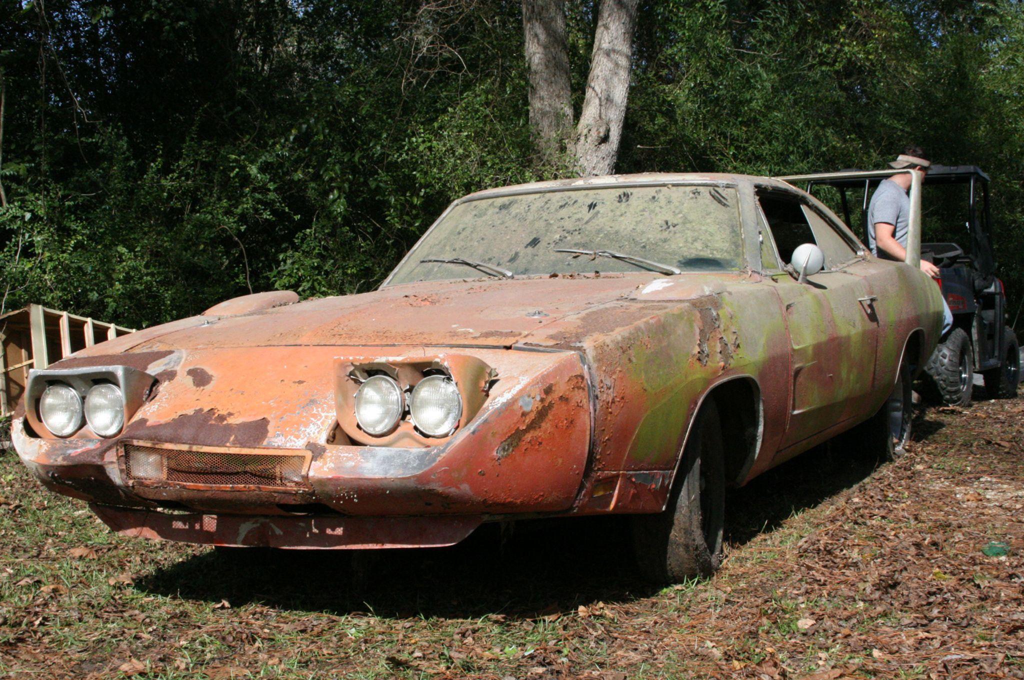 Decrepit Barn Find 1969 Dodge Charger Daytona To Be