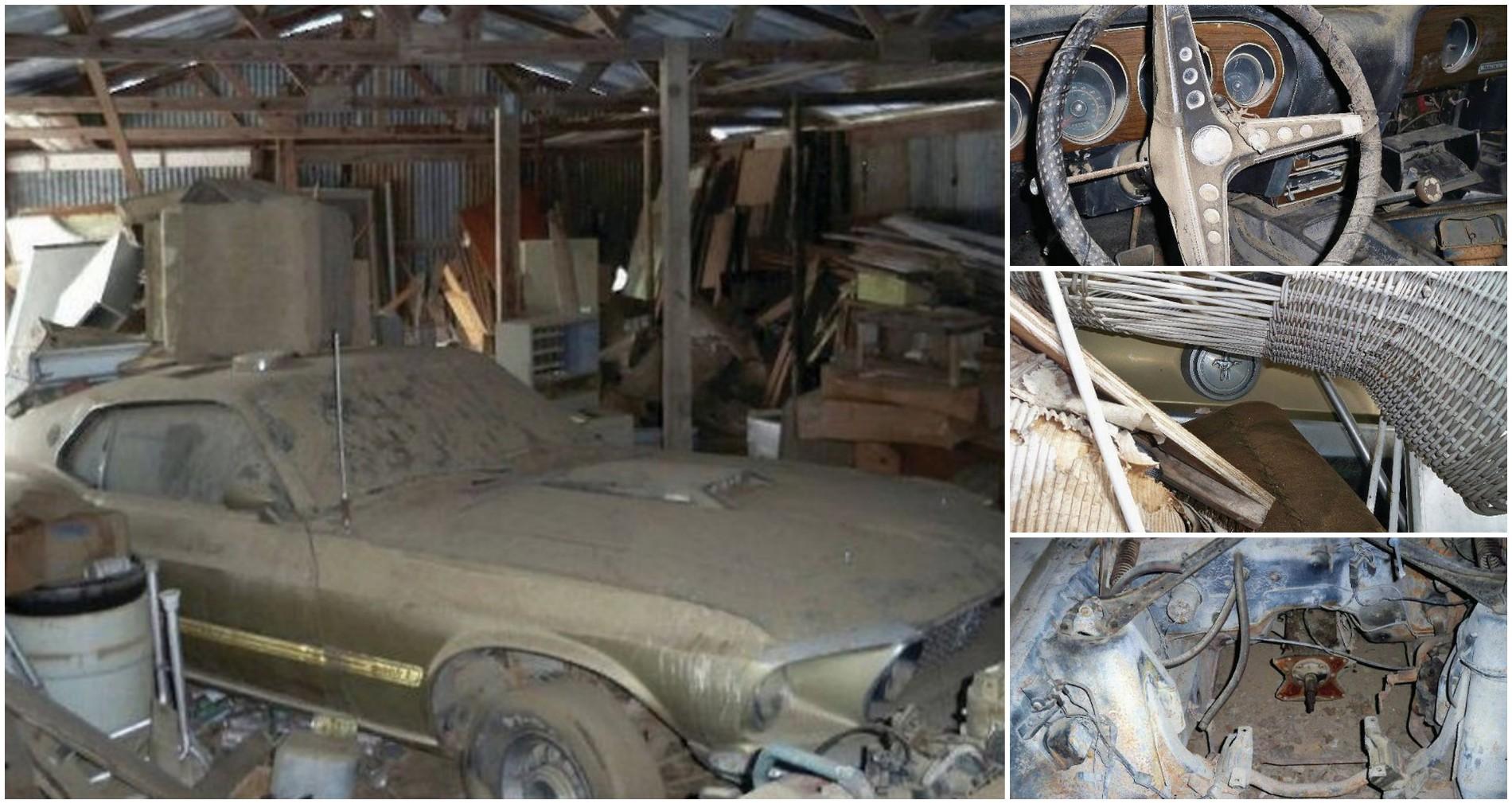 Barn find 1969 mustang mach 1 needs serious tlc autoevolution