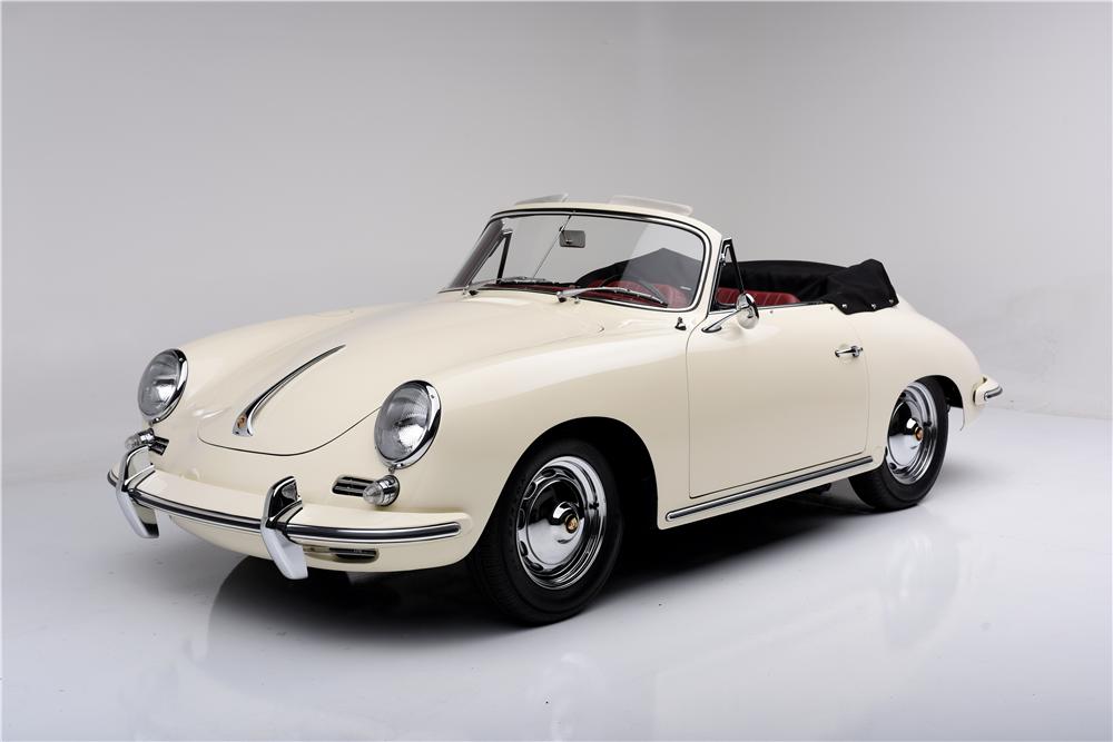 Barrett-Jackson to Sell Three Rare Porsche Convertibles - autoevolution