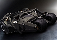 Batmobile, the way Hollywood sees it