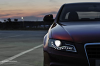 Audi LED daytime running lights