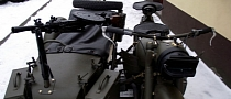 Battle-Ready 1963 Ural Sidecar, Complete with Gun Carriage