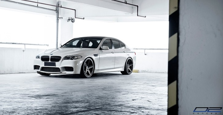 BC Forged Wheels Presents: White BMW on Black Wheels