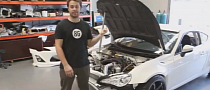 Beau Yates Drift Toyota GT 86 Gets Ready for New Round [Video]