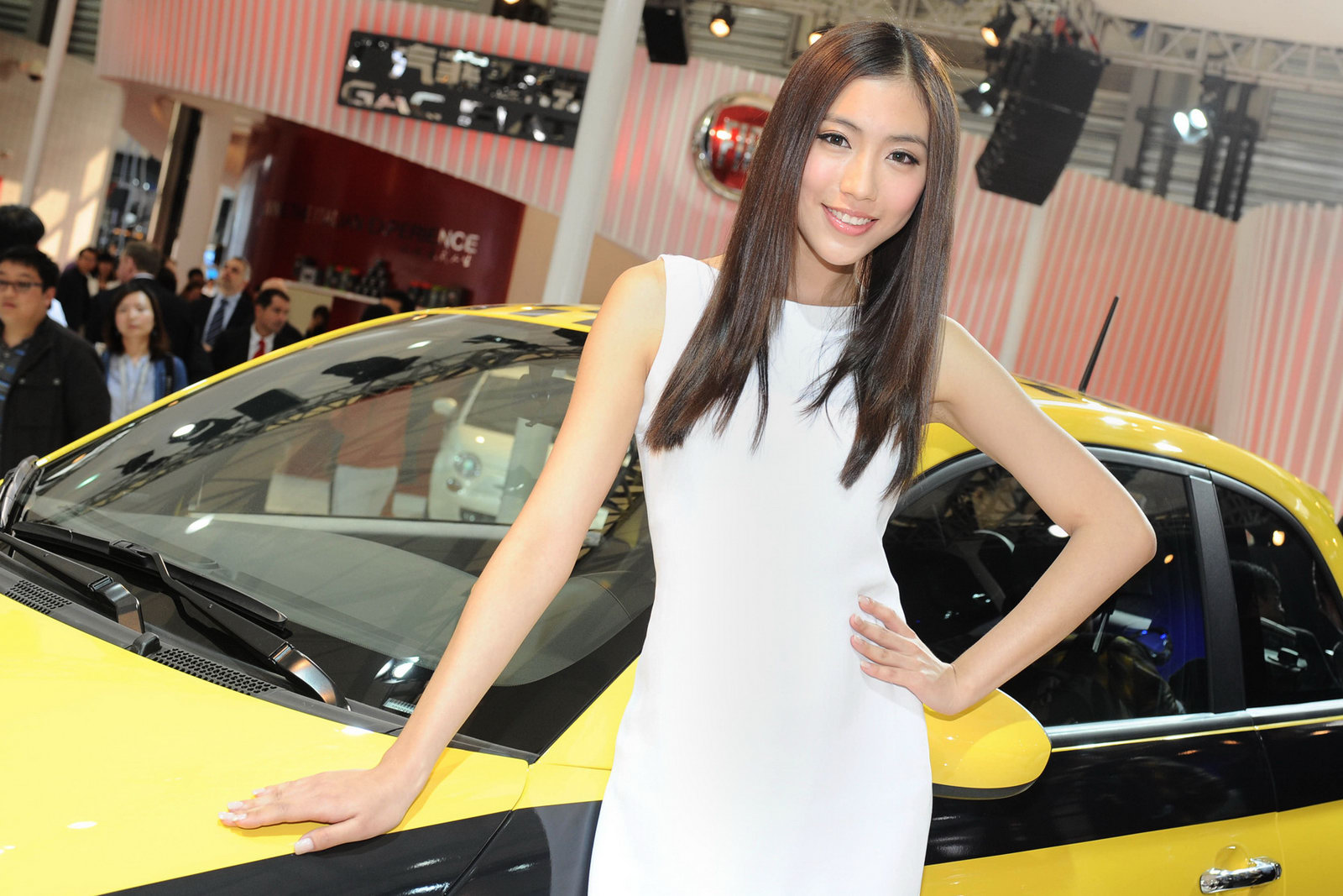 Japan car show model girls, chinnese girl getting fucked gif