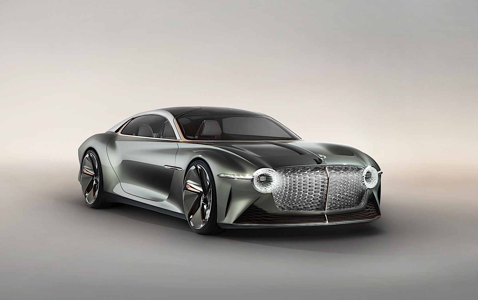 Check Out Bentley's NEWEST Car! EXP 100 GT