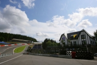 View on the Spa-Francorchamps circuit, host of the Belgian Grand Prix