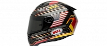 Bell Shows Limited Edition Laguna Seca Star Carbon Helmet