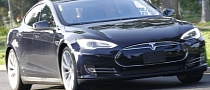 Ben Affleck and Jennifer Garner Drive a Tesla Model S