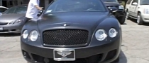 Ben Baller Bentley Wrapped in Black [Video]