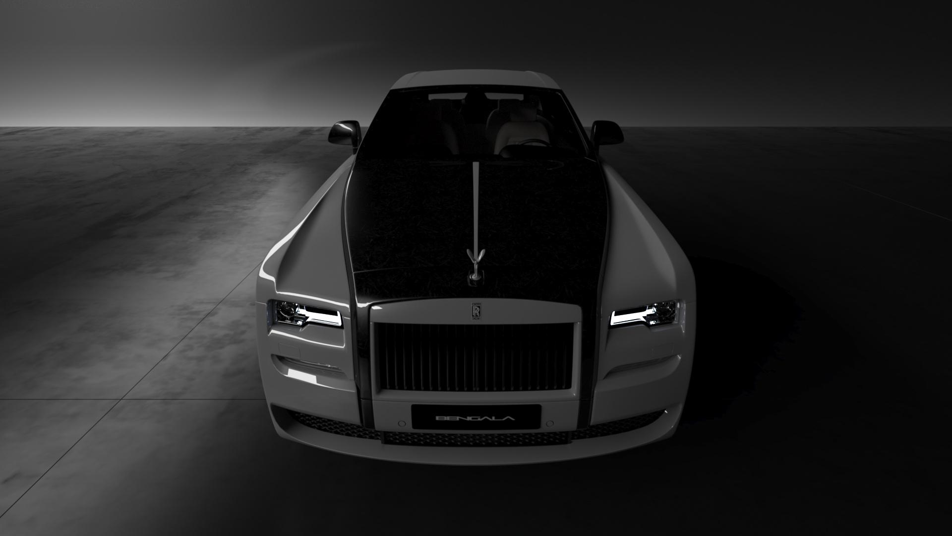 Bengala Automotive Vitesse Audessus Dress Up Rolls Royces In