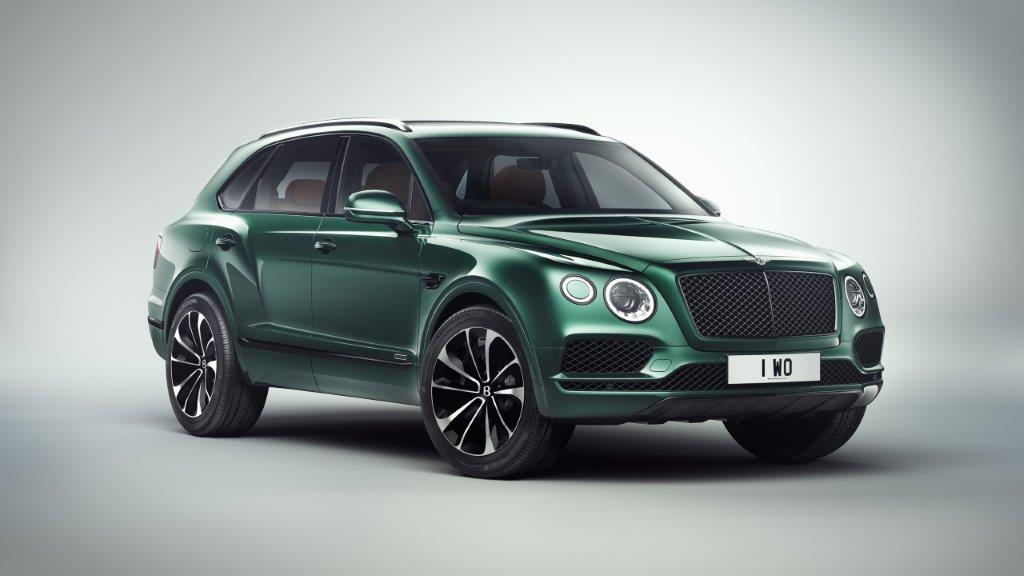 Bentley Bentayga By Mulliner Is A Nod To Horse Racing Apparently