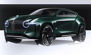 Bentley Bentayga Lacking Opulence? EXP8 Rendering Guarantees Satisfaction