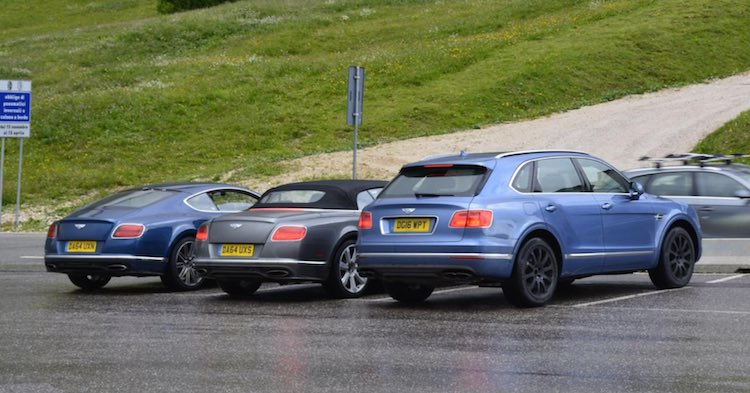 Bentley Bentayga Testing 4 0 Liter Tdi Diesel Engine With