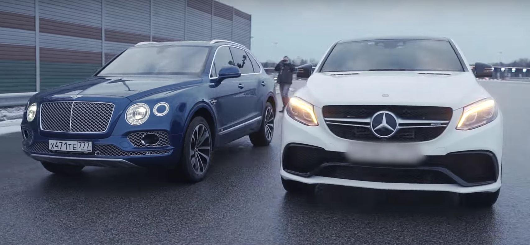 Bentley Bentayga Vs Mercedes Amg Gle 63 Coupe Comparison Includes Drag Race Autoevolution