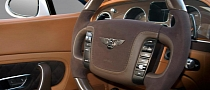 Bentley Continental GT Gets the Vilnter Interior Treatment