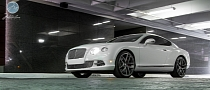 Bentley Continental GT on 22-inch Modulare Wheels [Photo Gallery]