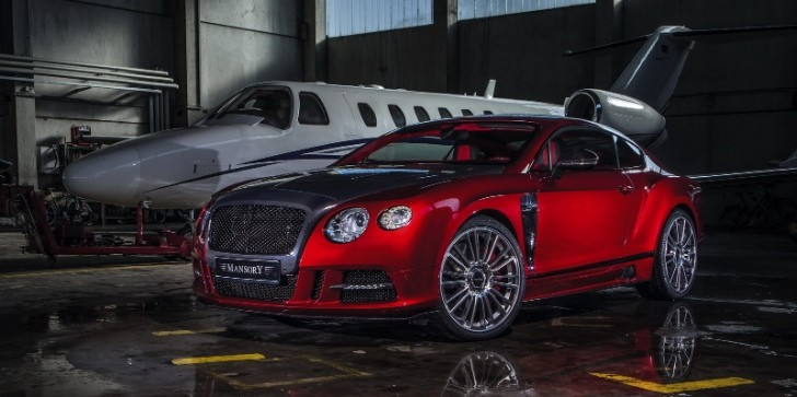 "Bentley Continental GT ""Sanguis"" by Mansory"