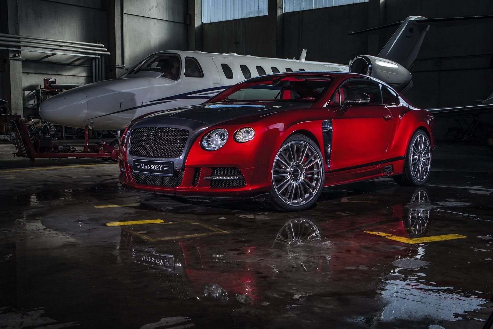 Bentley Continental Gt Sanguis By Mansory Autoevolution