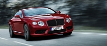 Bentley Continental GT V8 Gets Middle East Motoring Award