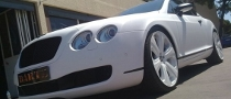 Bentley Continental GT White Snake Wrapping by Dartz